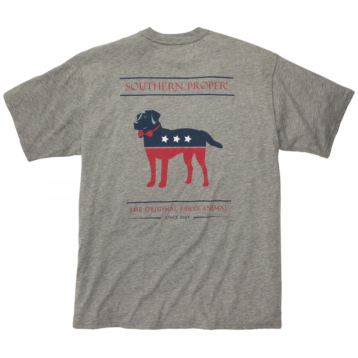 The Party Animal Tee - Grey
